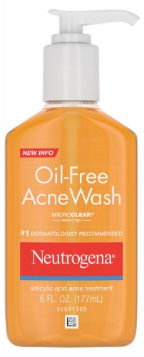 Neutrogena Oil-Free Acne Wash Perspective: front
