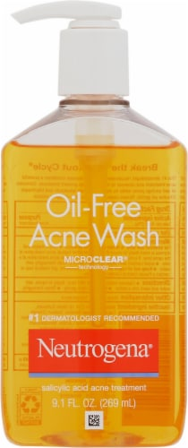 Neutrogena Oil Free Acne Wash Perspective: front