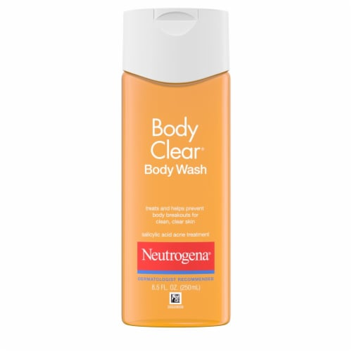 Neutrogena Body Clear Acne Treatment Body Wash Perspective: front