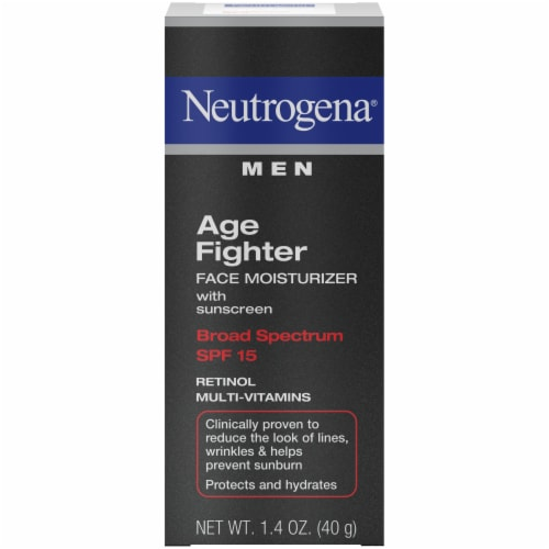 Neutrogena Men Age Fighter Facial Moisturizer with SPF 15 Perspective: front