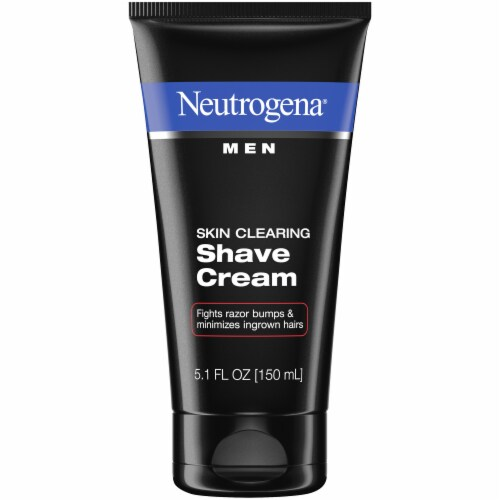 Neutrogena Men Skin Clearing Shave Cream Perspective: front