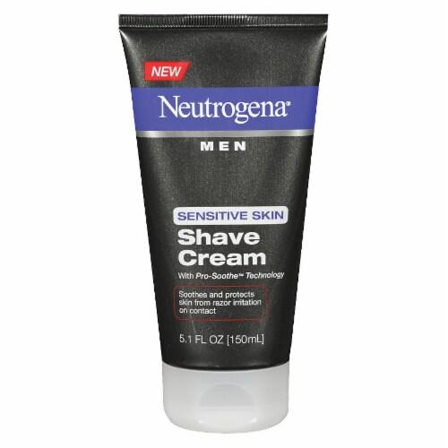 Neutrogena Men Sensitive Skin Shave Cream Perspective: front