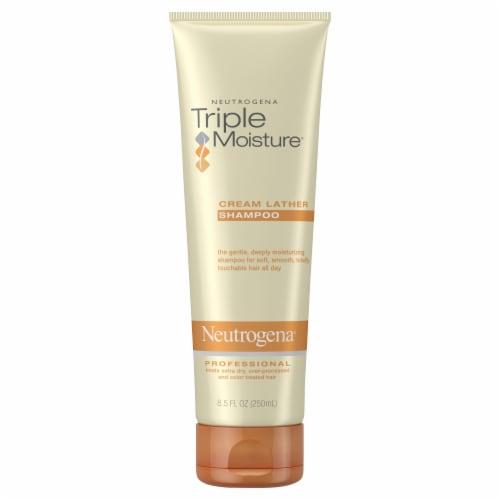 Neutrogena Triple Moisture Cream Lather Shampoo Perspective: front