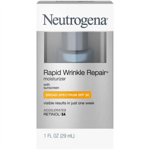 Neutrogena Wrinkle Rapid Repair Moisturizer SPF 30 Perspective: front