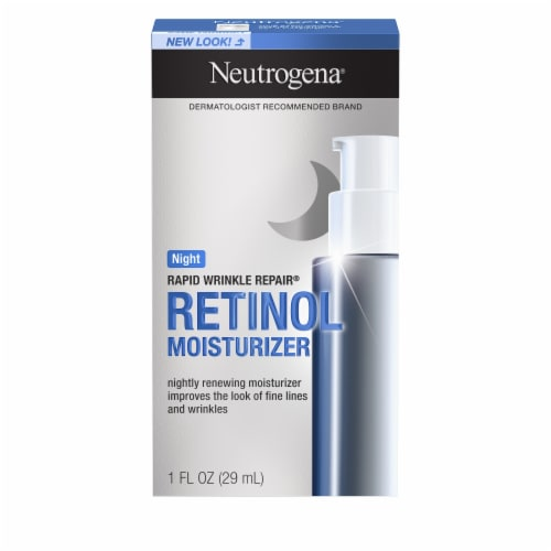 Neutrogena Rapid Wrinkle Repair Night Cream Perspective: front