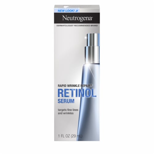 Neutrogena Rapid Wrinkle Repair Serum Perspective: front