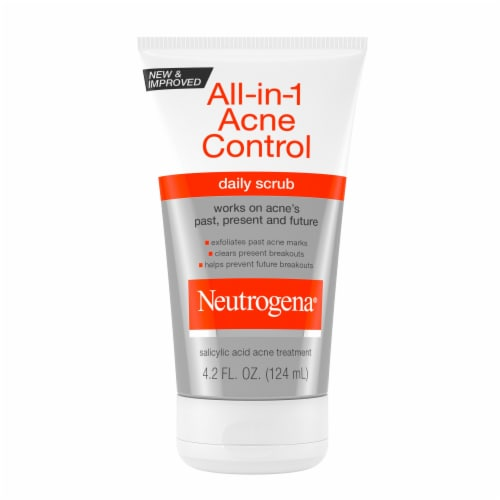 Neutrogena All-In-1 Acne Control Daily Scrub Perspective: front