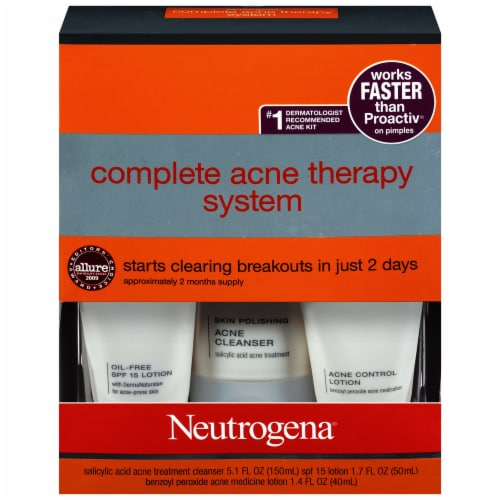 City Market Neutrogena Complete Acne Therapy System 1 Ct