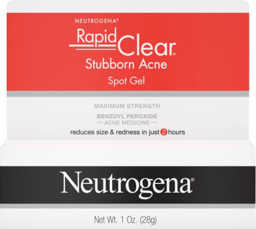 Neutrogena Rapid Clear Stubborn Acne Spot Treatment Gel Perspective: front