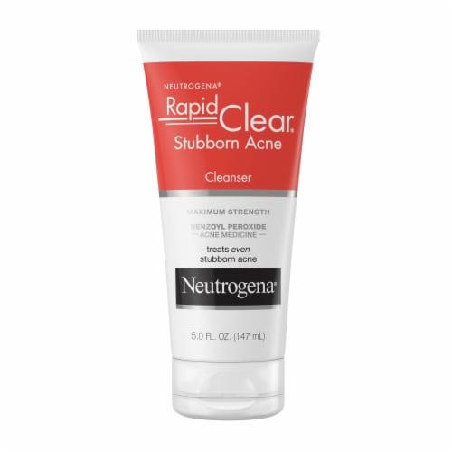 Neutrogena Rapid Clear Stubborn Acne Cream Cleanser Perspective: front