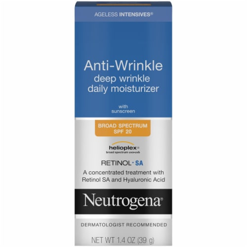 Neutrogena Ageless Intensives Anti-Wrinkle Deep Wrinkle Daily Moisturizer SPF20 Perspective: front