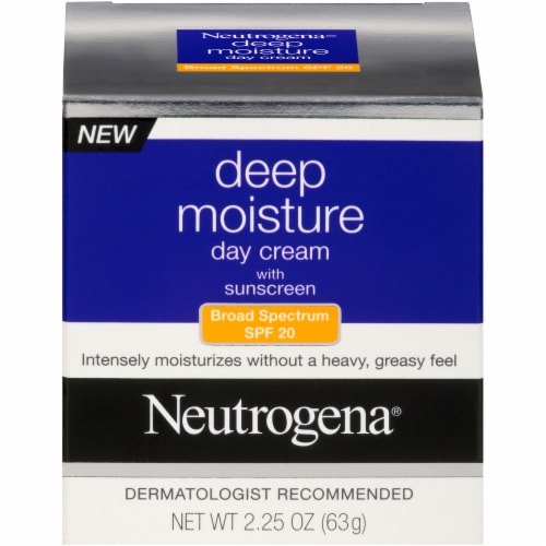Neutrogena Deep Moisture Day Cream with SPF 20 Perspective: front