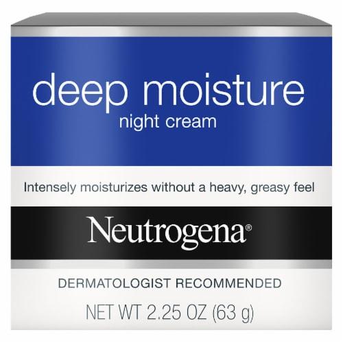 Neutrogena Deep Moisture Night Cream Perspective: front