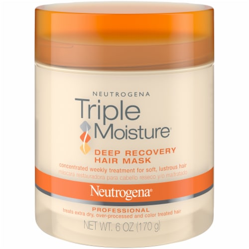 Neutrogena Triple Moisture Deep Recovery Hair Mask Perspective: front
