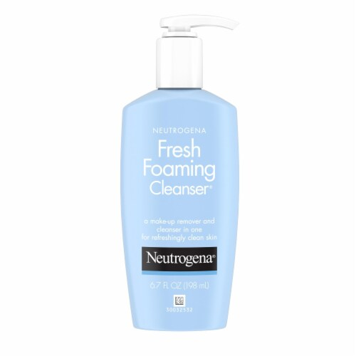 Neutrogena Fresh Foaming Facial Cleanser Perspective: front
