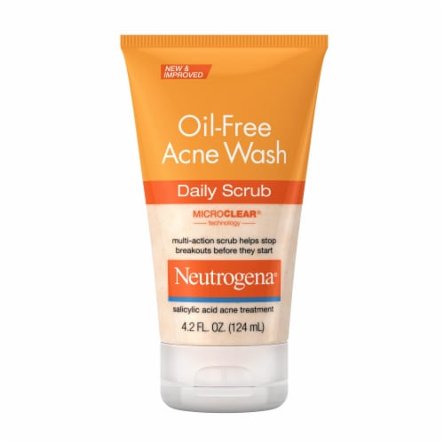Neutrogena Oil-Free Acne Wash Daily Scrub Perspective: front