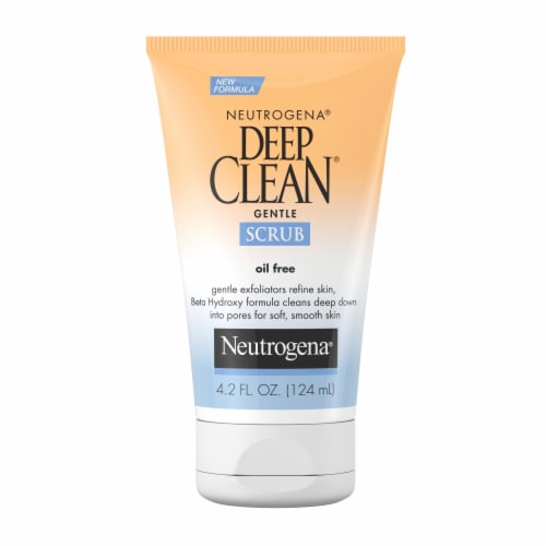 Neutrogena Deep Clean Oil Free Gentle Scrub Perspective: front