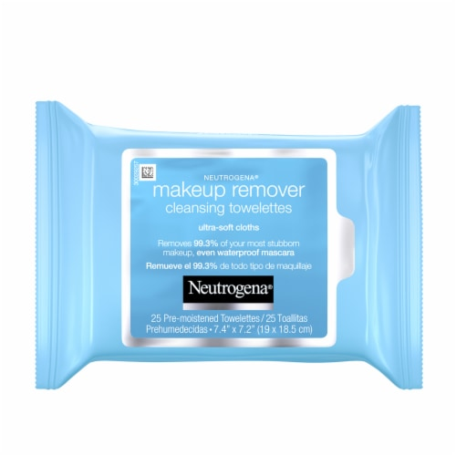 Neutrogena Makeup Remover Cleansing Towelettes & Face Wipes Perspective: front