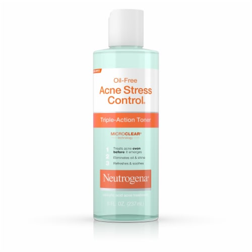 Neutrogena Oil Free Acne Stress Control Triple Action Toner Perspective: front