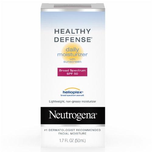 Neutrogena Healthy Defense Daily Moisturizer Sunscreen SPF 50 Perspective: front