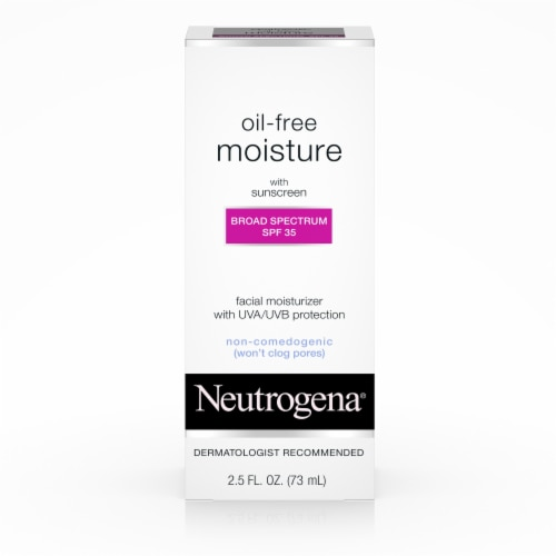 Neutrogena Oil-Free Facial Moisturizer with Sunscreen SPF 35 Perspective: front