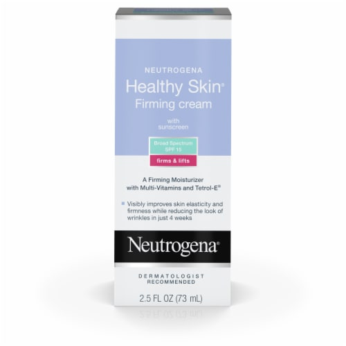 Neutrogena Healthy Skin Face Firming Cream SPF 15 Perspective: front