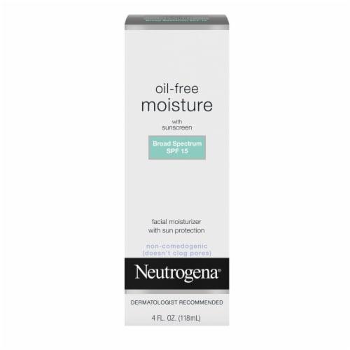 Neutrogena Oil-Free Moisture Facial Moisturizer SPF 15 Perspective: front