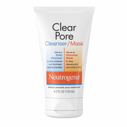 Neutrogena Clear Pore Cleanser/Mask Perspective: front