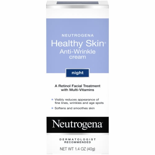 Neutrogena Helathy Skin Anti-Wrinkle Night Cream Perspective: front