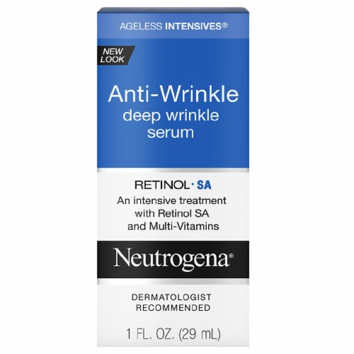 Neutrogena Ageless Intensives Anti-Wrinkle Deep Wrinkle Serum Perspective: front