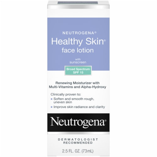 Neutrogena Healthy Skin Face Lotion SPF 15 Perspective: front