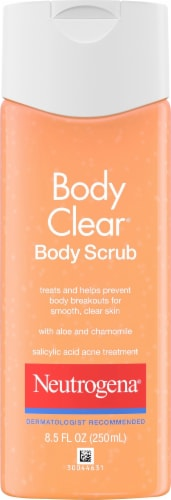 Neutrogena Body Clear Acne Body Scrub Perspective: front