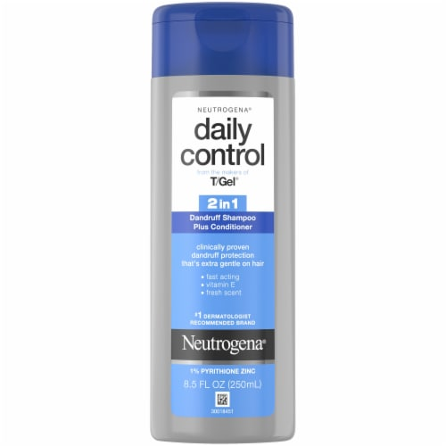 Neutrogena Daily Control 2-in-1 Dandruff Shampoo Plus Conditioner Perspective: front