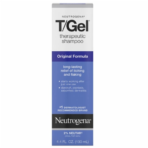 Neutrogena T/Gel Therapeutic Shampoo Perspective: front