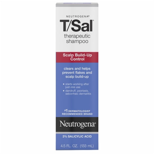Neutrogena T/Sal Scalp Build-Up Control Therapeutic Shampoo Perspective: front