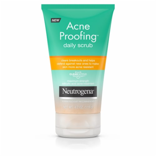 Neutrogena Acne Proofing Exfoliating Daily Scrub Perspective: front
