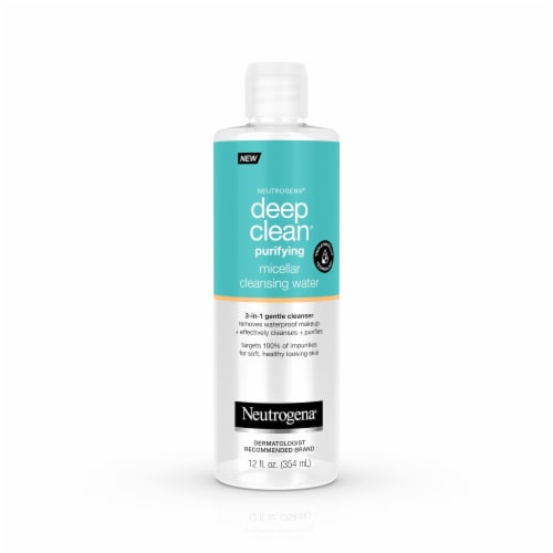 Neutrogena Deep Clean Purifying Micellar Cleansing Water Perspective: front