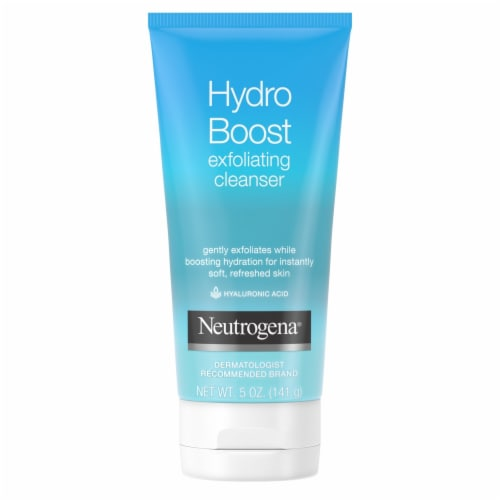 Neutrogena Hydro Boost Exfoliating Facial Cleanser Perspective: front