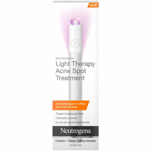 Neutrogena Light Therapy Acne Spot Treatment Perspective: front