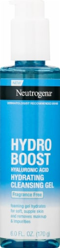Neutrogena® Hydroboost Hyaluronic Acid Hydrating Cleansing Gel Perspective: front