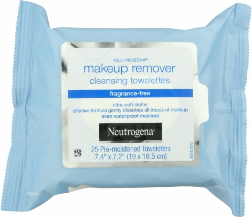 Neutrogena Makeup Remover Cleansing Towelettes 25 Count Perspective: front