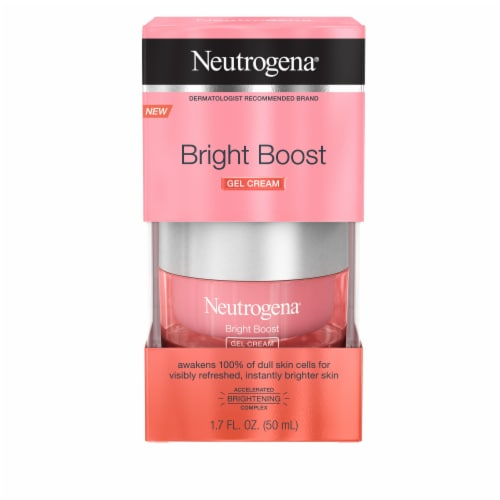 Neutrogena Bright Boost Gel Cream Perspective: front