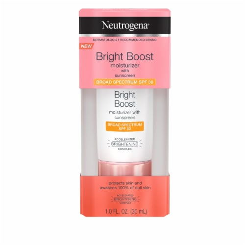 Neutrogena Bright Boost Moisturizer with Sunscreen SPF 30 Perspective: front
