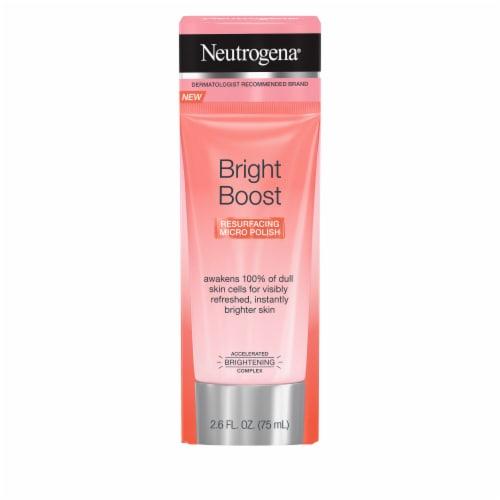 Neutrogena Bright Boost Resurfacing Micro Polish Perspective: front