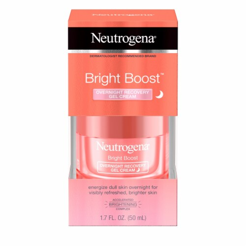 Neutrogena Bright Boost Overnight Recovery Gel Cream Perspective: front