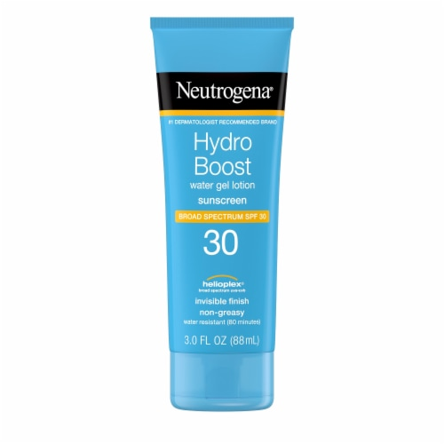 Neutrogena Hydro Boost Water Gel Sunscreen Lotion SPF 30 Perspective: front