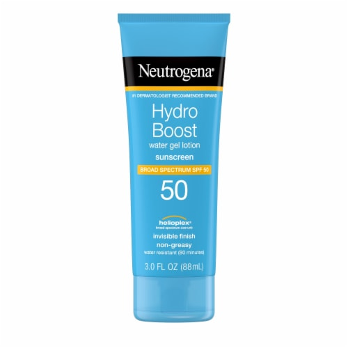 Neutrogena Hydro Boost Water Gel Sunscreen Lotion SPF 50 Perspective: front