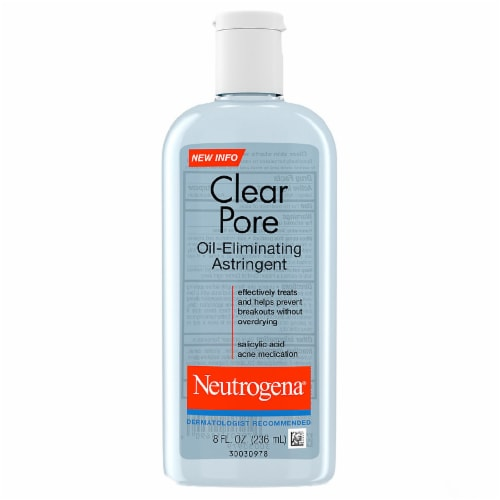 Neutrogena Clear Pore Oil-Eliminating Astringent Perspective: front