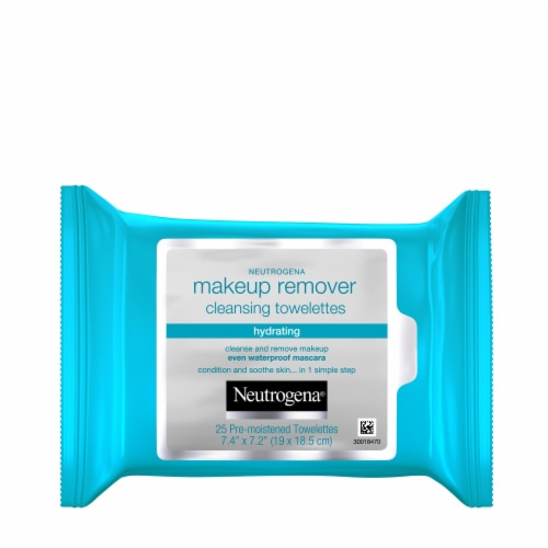 Neutrogena Hydrating Makeup Remover Cleansing Towelettes Perspective: front
