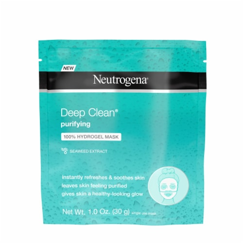 Neutrogena Deep Clean Purifying 100% Hydrogel Mask Perspective: front